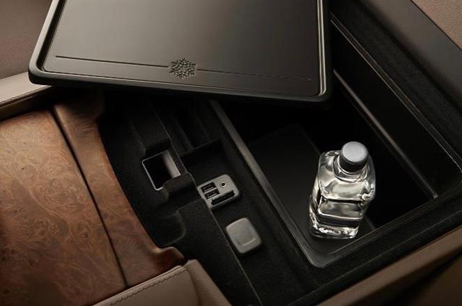 Upscale car interior