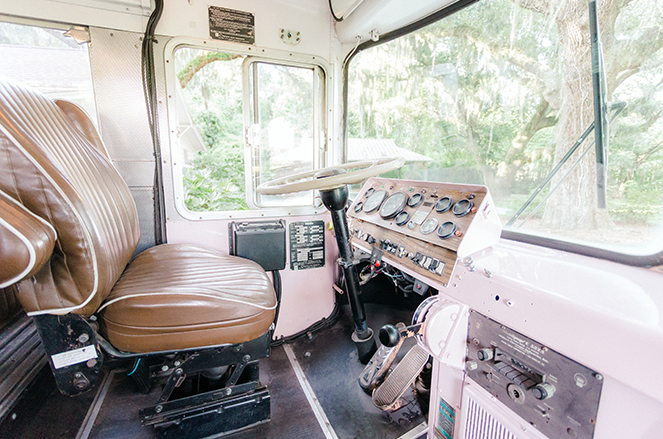 1950s Bespoke Supercoach Dashboard