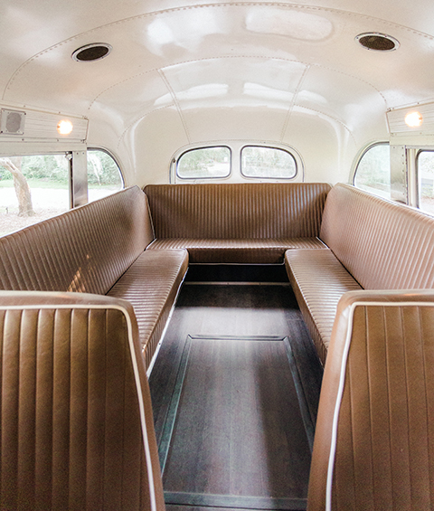 1950s Bespoke Supercoach Interior