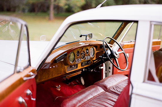 1961 Rolls Royce Interior