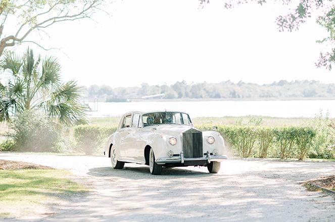 1961 Rolls Royce on Road