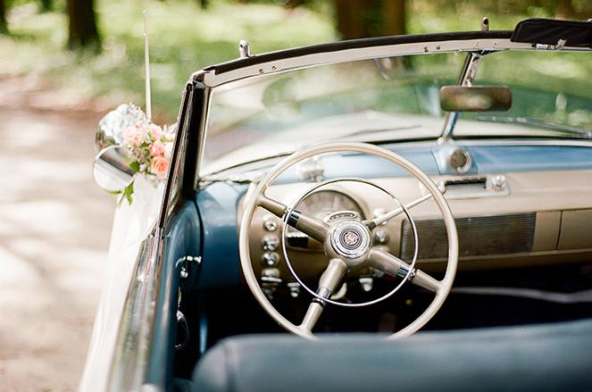 1949 Oldsmobile Steering Wheel