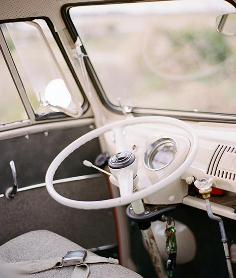 VW Bus Steering Wheel