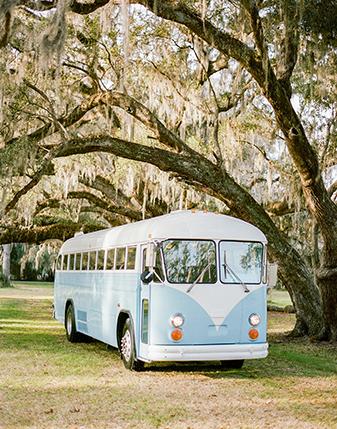 1950s Bespoke Supercoach (Baby Blue)