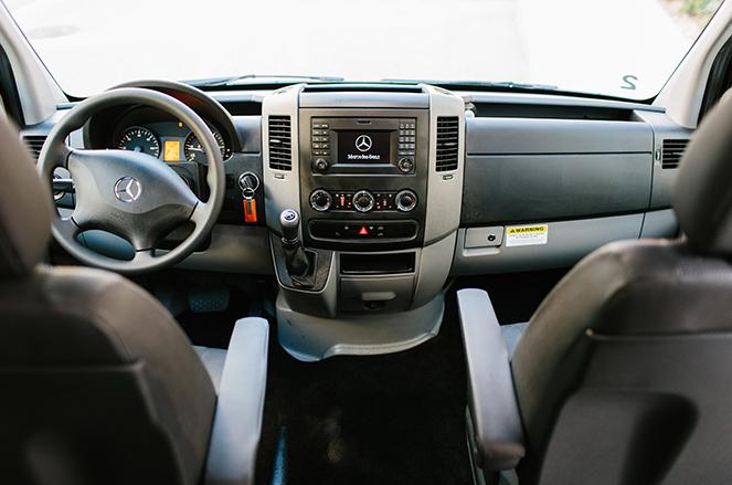 Mercedes Sprinter Van Interior