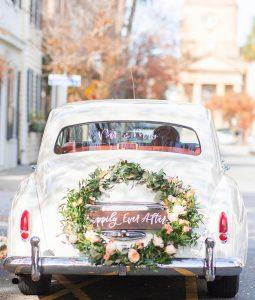 Car with Wreath